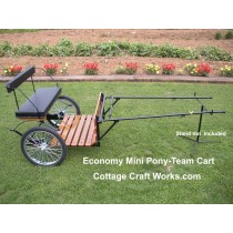 Economy Mini Pony-Team Cart