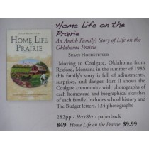 Home Life on the Prairie