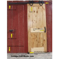 Barn Door Layout Visual
