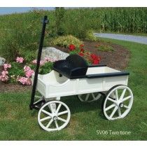 Miniature Buckboard Wagon Medium Size