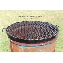 Burn Barrel Top Grate Lid Fits 55-gal Barrels