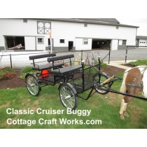 Classic Cruiser Horse-Drawn Lightweight Metal Buggy