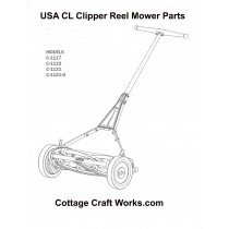 Clipper Reel Mower Parts