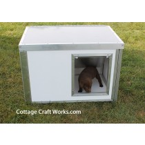 Knock Down Hunting Dog Box