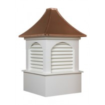 The Dalton Louvered Cupola Poly