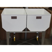 All Aluminum Double Wash Tubs