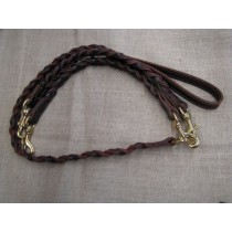 Woven 2-Dog Coupler Dog Leash