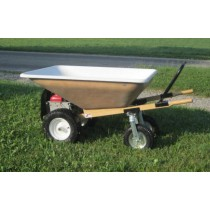 Amish Made EZ Motorized Wheelbarrow