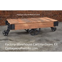 Vintage Factory-Warehouse Industrial Cart Hardware