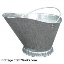 Galvanized Coal and Ash Bucket