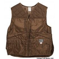 Brown Hunting Game Vest