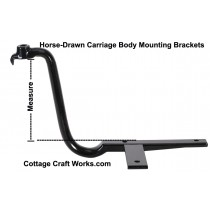 Horse-Drawn Carriage Body Mounting Brackets, Hangers