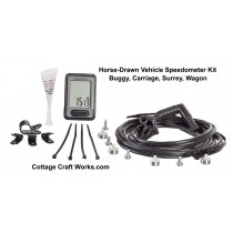 Horse-Drawn Vehicle Speedometer Kit