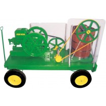 Wagon Mounted Hit n Miss Economy Ice Cream Freezers