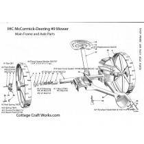 IHC Mower Main Frame