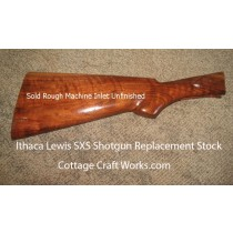 Ithaca Lewis SxS Shotgun Replacement Stock