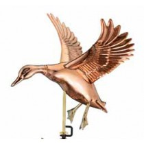 Landing Duck Copper Weathervane