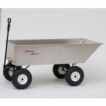 Heavy Duty Aluminum Large Dump Wagon