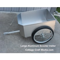USA Push Scooter Aluminum Trailer