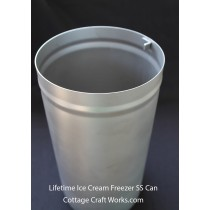 Lifetime Ice Cream Maker Replacement Stainless Freezer Can