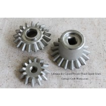 Lifetime Ice Cream Freezer Replacement Stainless Gears