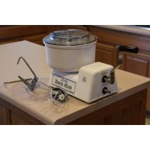 Off Grid- Hand Crank Mixer - Food Processor