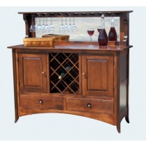 Amish Handcrafted Custom Wine Bars
