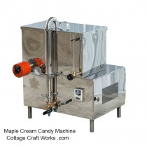 Mirror Finished Stainless Maple Sugar Candy and Cream Machine