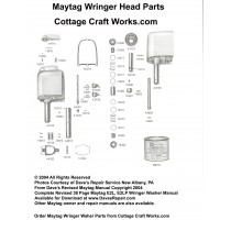 Maytag Wringer Head Parts