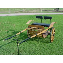 Two Wheel Horse Cart Back Entry