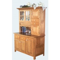 Meredith Hoosier Cabinet  sc 1 st  Cottage Craft Works & Amish Crafted Hoosier Kitchen Cabinets Hutches Buffets