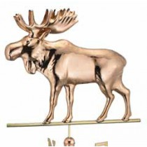 Moose Copper Weathervane