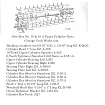 New Idea 10-8 Upper Cylinder Parts