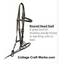 Noavel Headstall Behavior Management Bridle