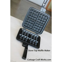 Non-electric Stove Top Belgian Waffle Iron