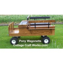 Mini Pony Wagonette