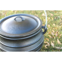 7.25 Gallon Cast Iron Kettle