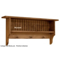 Primitive-beadboard-double-shelf