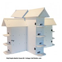 Poly T-14 Purple Martin House Kit