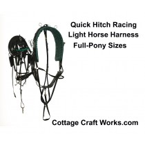 Quick Hitch Light Horse Racing Harness
