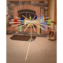 Umbrella Clothes Drying Rack | Folding Floor Drying Rack
