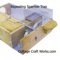 Repeating Sparrow Trap