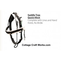 Saddle Tree Quick Hitch Race Harness