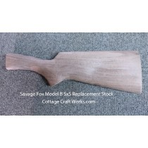 Savage Fox Model B SxS Replacement Stock