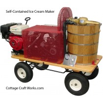 Gas Engine Powered Iceless Ice Cream Freezer