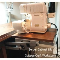 Serger Lift For Sewing Cabinets