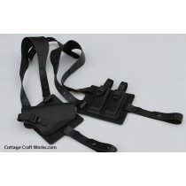 Shoulder Harness Leather Holster Rig