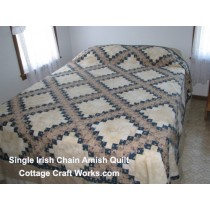 Single Irish Chain Amish Quilt