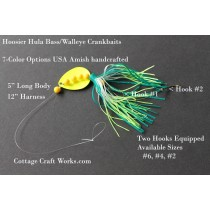 Skirted Spinner Crankbait