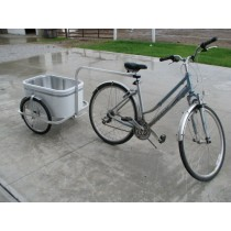 Small Aluminum Bike Cart | Bicycle Trailer